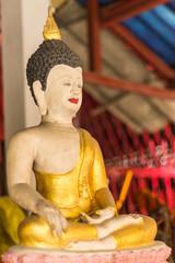 Buddha Statue in Wat Saen Fang , Chiangmai Thailand