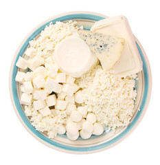dairy products, assorted