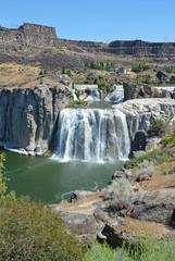 Shoshone Falls in Idaho, USA