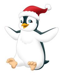 The graphic of penguin - illustration for the children