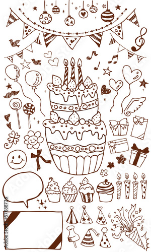 誕生日イラスト Stock Image And Royalty Free Vector Files On Fotolia