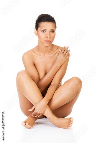Girl doing anal masterbation