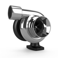 Chrome car turbine