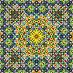 Nawa Seamless Pattern Three