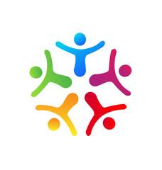People union icon vector