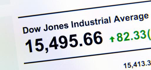 Dow Jones stock market index