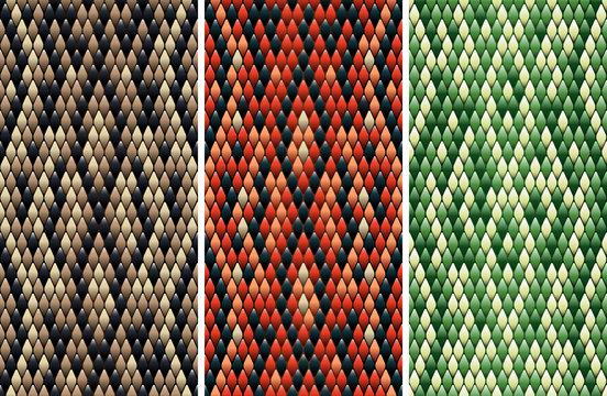 Seamless snakeskin pattern