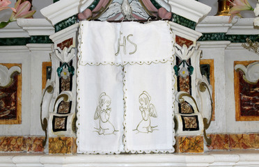 Host in Catholic Church