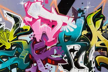 Papiers peints Graffiti Tags
