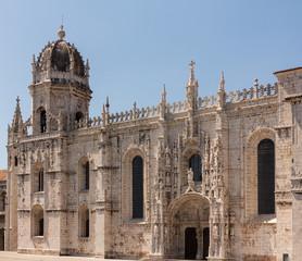 Jeronimos Monastery in Belem Lisbon