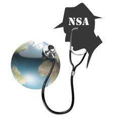 NSA, Geheimdienst, Spion, Spionage, Abhören