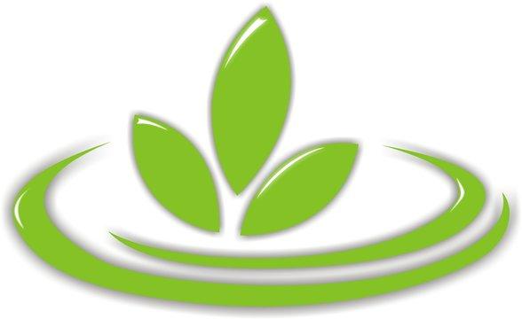 Erneuerbare Energie Bio Logo