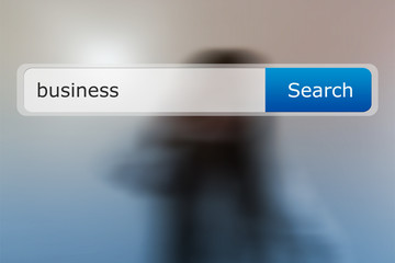 Business in Search Bar Image