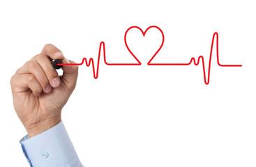 Draw a heart chart