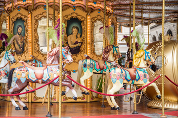 Colorful Italian Carousel