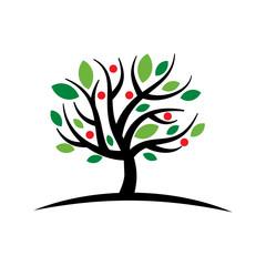 Tree-plant vector
