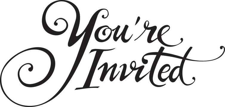 You're Invited