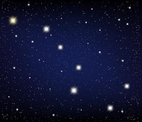 cosmos. Constellation URSA Major.