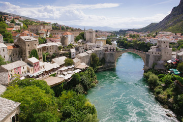 Brücke von Mostar, Bosnien und Herzegowina
