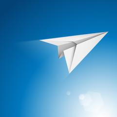 samolot origami