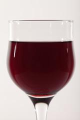 Glass of wine.