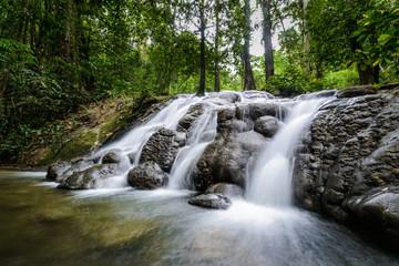 sanang manora waterfall in phang-nga