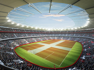 Wall Mural - Stadion Dänemark