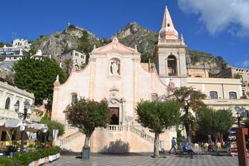 Chiesa di San Giuseppe in Taormina Sicily Italy