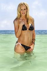 Caribbean Bikini Model