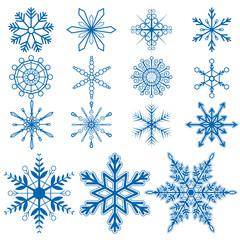 Snowflake set1 Vectors