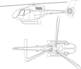 B&W Helicopter