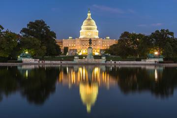 US Capital building, Washington DC, USA Wall mural