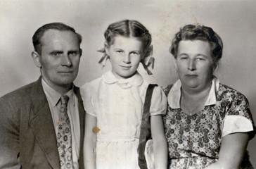 Family - circa 1955