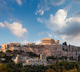 Photo sur Aluminium Athenes Parthenon, Athenian Acropolis, Athens, Greece
