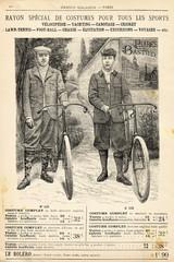 Wall Mural - Costume de vélo