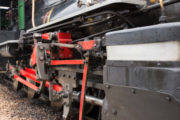 Steam locomotive in Tiradentes