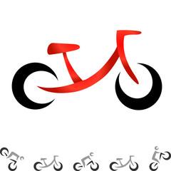 Wall Mural - Fahrrad - Logo