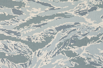 US air force digital tigerstripe camouflage fabric texture backg