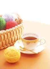 wool and cup
