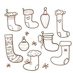 Christmas stockings set