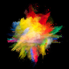 colored dust