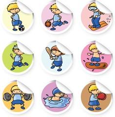 Иконки Спорт мультфильма