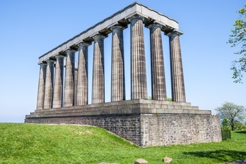 National Monument on Calton Hill, Edinburgh