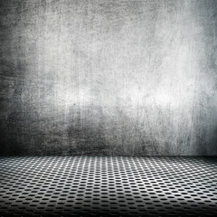 metal space background
