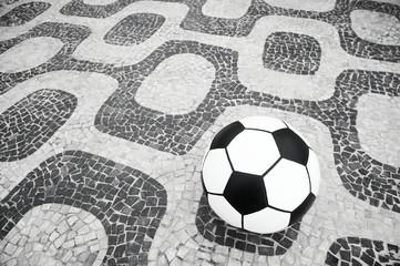 Soccer Ball Football Ipanema Rio de Janeiro Brazil