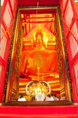 AYUTTHAYA,THAILAND-JUNE 27, 2013:Wat Phanan Choeng.