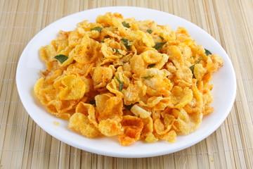 corn flakes fried