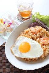 Indonesian food, Nasi Goreng with sunny side up