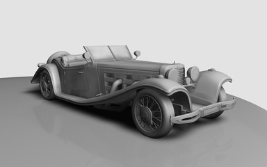 3d Car Oldie 2