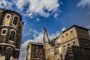 Démolition des Prisons Saint-Paul